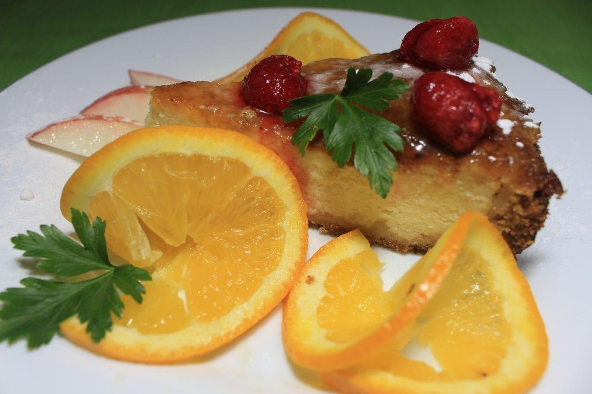 CHizkejk s fruktami 1200x800 - Лимонный чизкейк