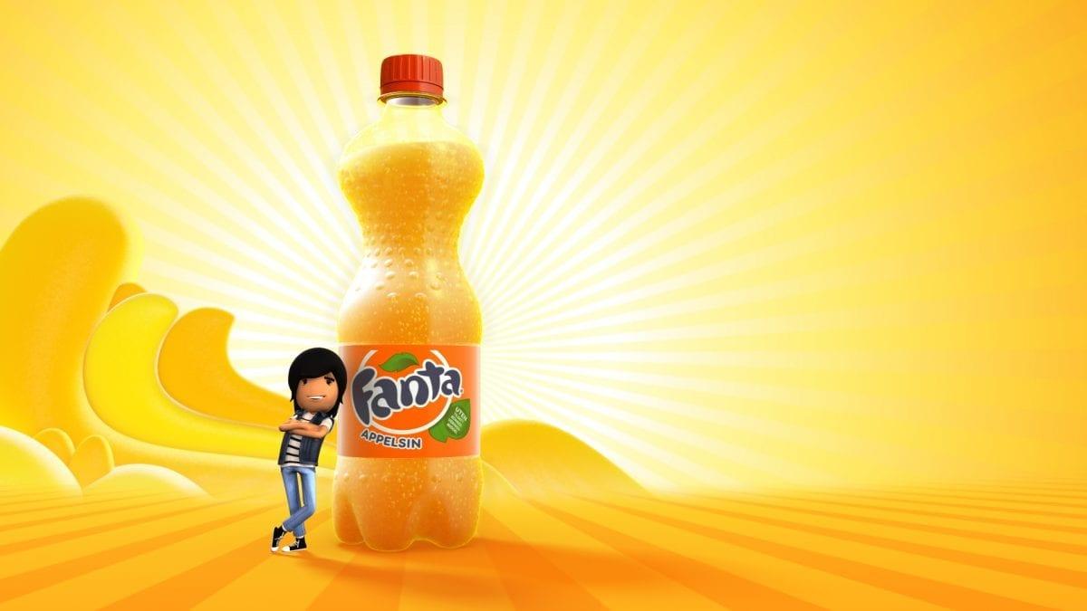 """Fanta 1200x675 - Напиток газированный """"Fanta"""""""