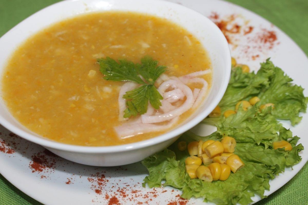 Krem sup iz kukuruzy 1200x800 - Суп-пюре из кукурузы
