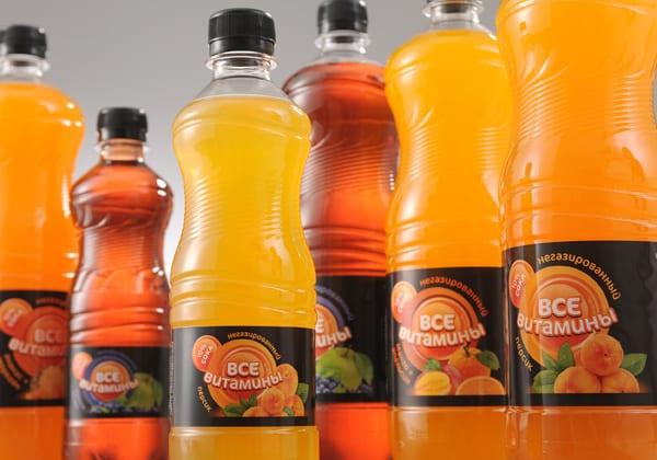 """Napitok negazirovannyj Vse vitaminy 1 l - Напиток негазированный """"Все витамины"""""""