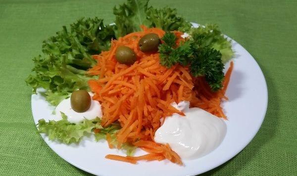 Salat iz morkovi so smetanoj morkovsmetanasaharsol e1547451973695 600x356 - Салат из моркови со сметаной