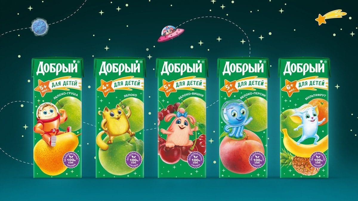 """Sok Dobryj 200 ml 1200x675 - Сок """"Добрый"""""""