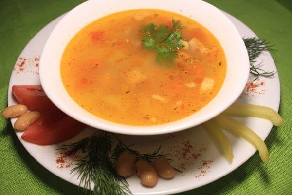 Sup fasolevyj s myasom 600x400 - Суп фасолевый с мясом