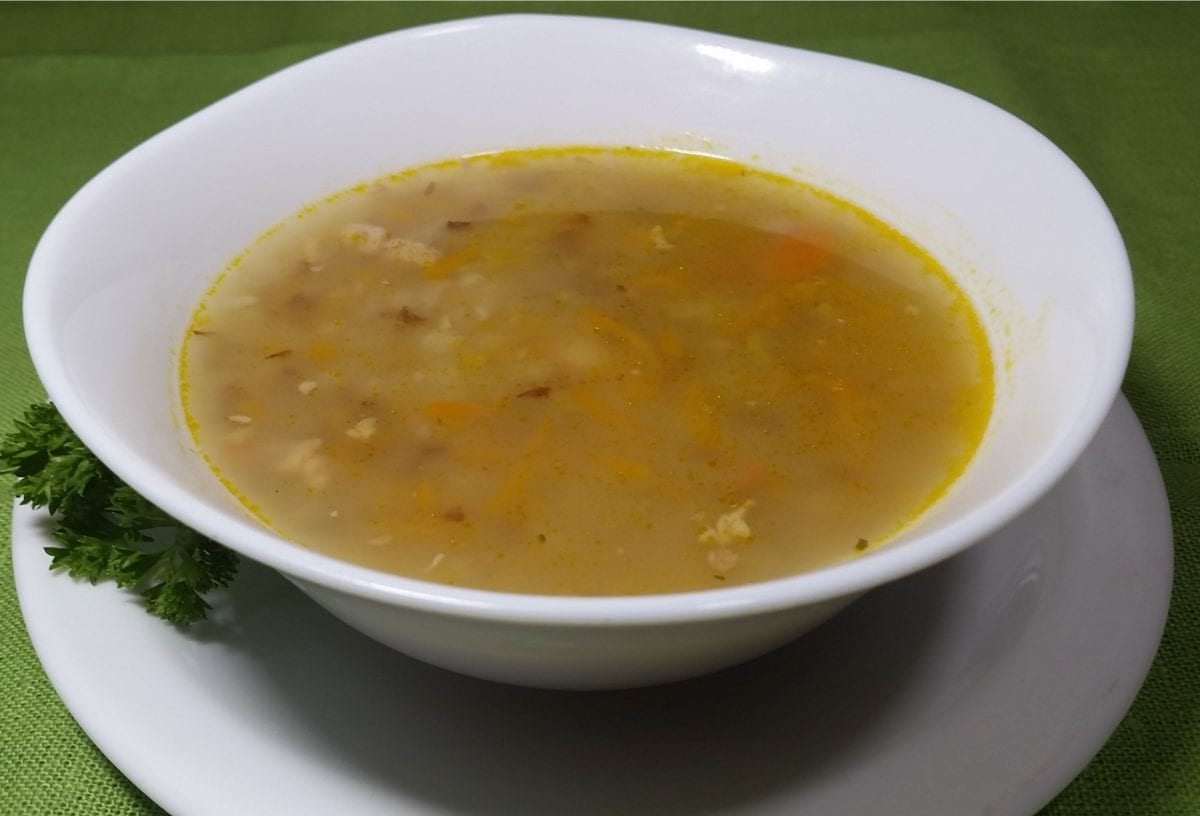 Sup grechnevyj s myasom 1200x816 - Суп гречневый с грудинкой