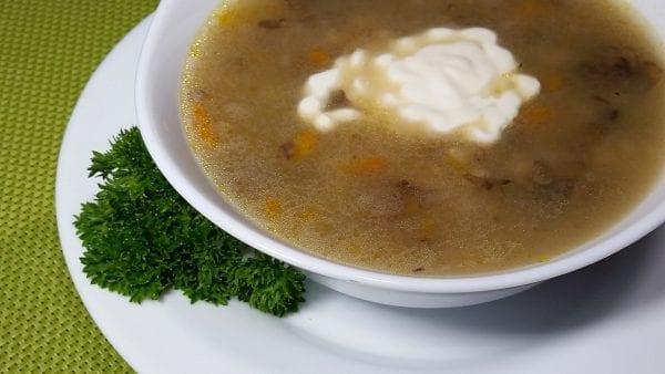 Sup gribnoj s perlovkoj min 600x338 - Суп грибной с перловкой