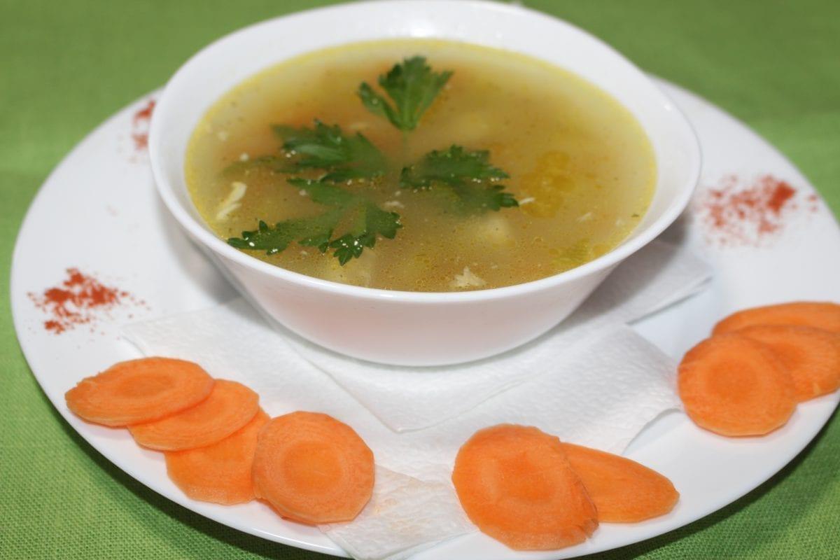 Sup s kuritsej kabachkami i kartofelem 1200x800 - Суп с курицей, кабачками и картофелем