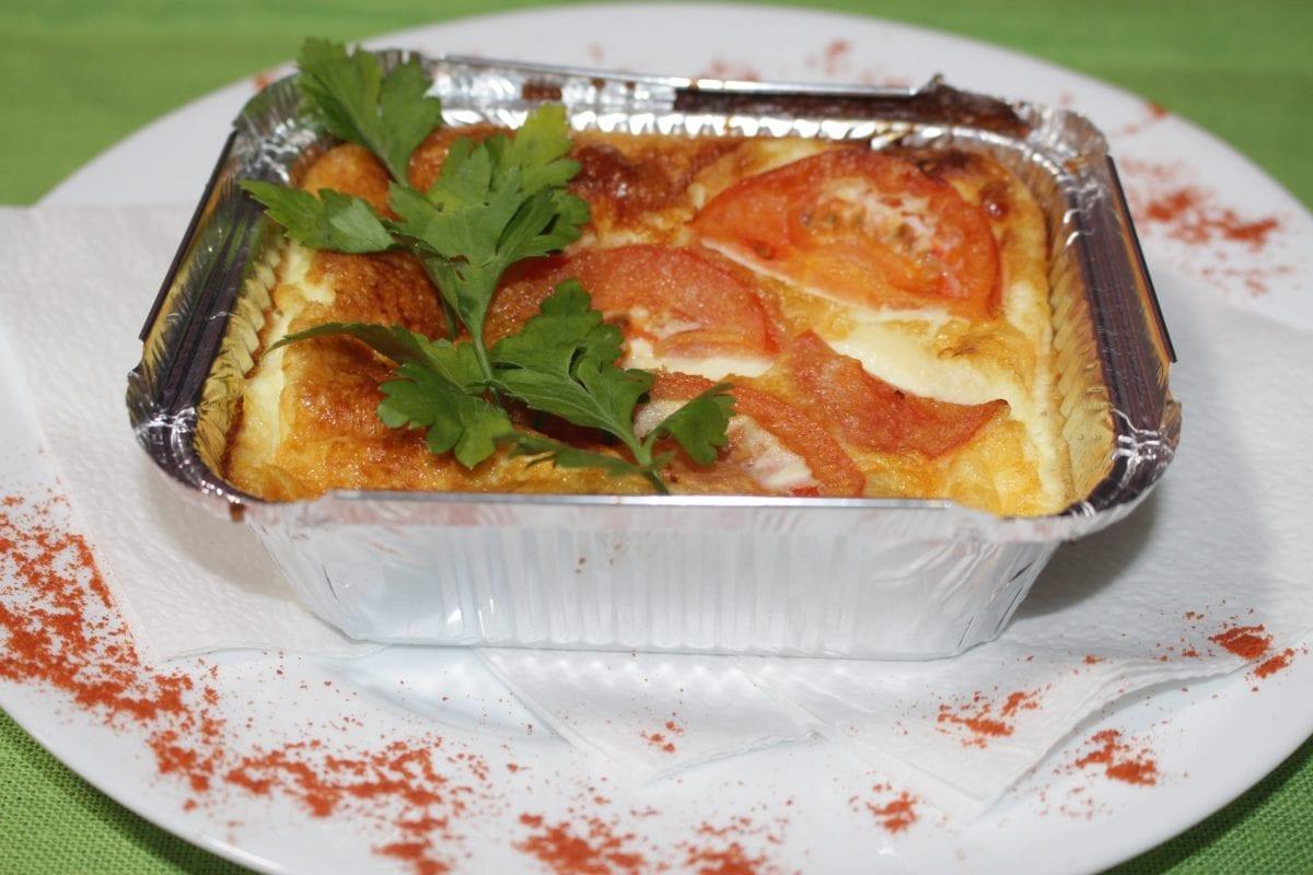 Omlet s tomatom 1200x800 - Омлет с томатом