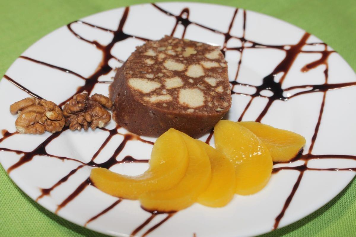 Rulet shokoladnyj iz pesochnogo pechenya 1200x800 - Рулет шоколадный из песочного печенья