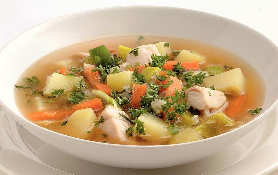 Sup rybnyj - Суп рыбный
